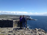 At the top of Dun Aonghasa