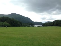 The view across Muckross Lake