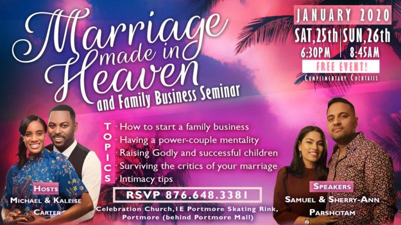Marriage Seminar Flyer