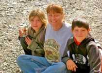 Saue Aikens with her grandkids