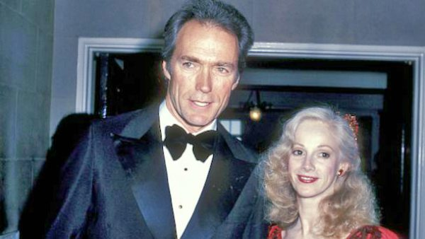 Clint Eastwood and his late partner Sondra locke