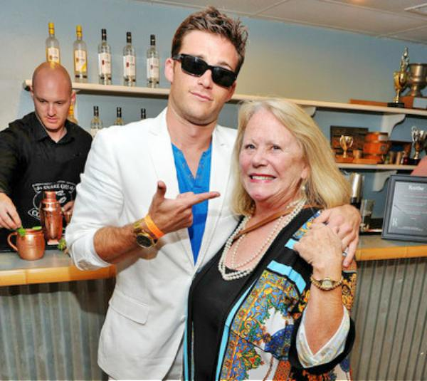 Jacelyn reeves and her son Scott Eastwood