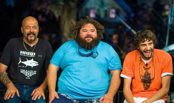 Wicked Tuna Cast TJ Ott, Tyler McLaughlin, Dave Marciano