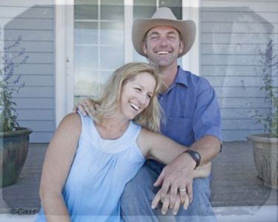 Andy hillstrand and his wife Sabrina Hillstrand
