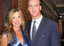 Ashley Manning and Peyton Manning