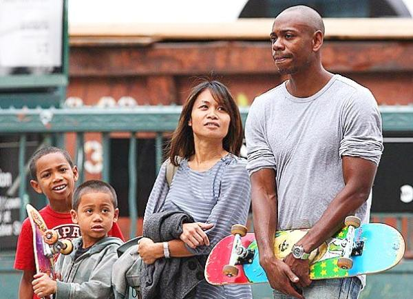 Dave Chappelle wife and children