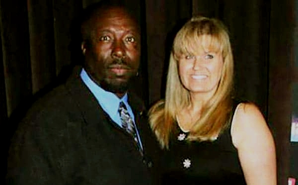 Ivy Calvin with his wife Wendy