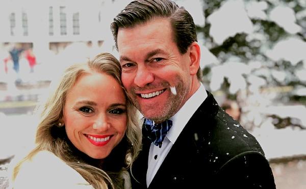 Tamara Day with her husband Bill Day.