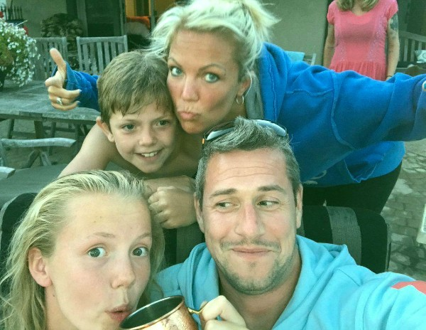Ant Anstead wife Louise and Kids