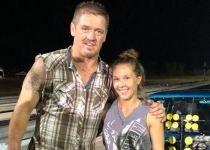 JJ Da Boss along with wife Tricia Day