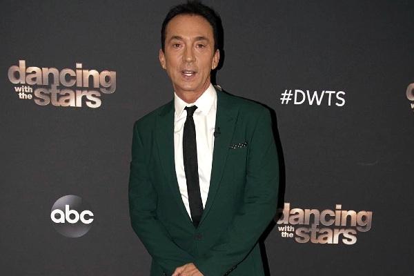 Dancer, choreographer, presenter; Bruno Tonioli