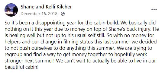 Why shane kilcher and Kelli Kilcher are no longer in ATLF?