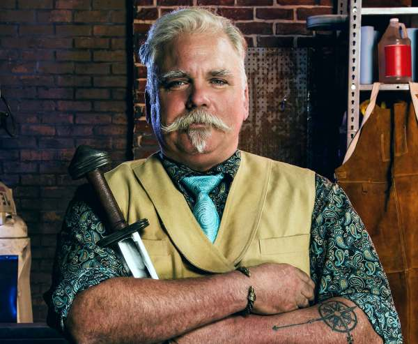 Forged in Fire star David Baker