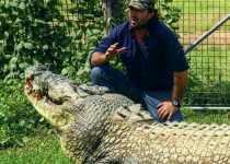 Monster Crocodile wrangler Matt Wright