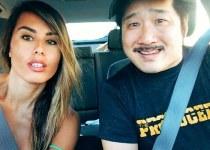 Khalyla Kuhn with her boyfriend Bobby Lee.