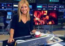 Co-anchor of CNBC's Closing Bell, Sara Eisen.