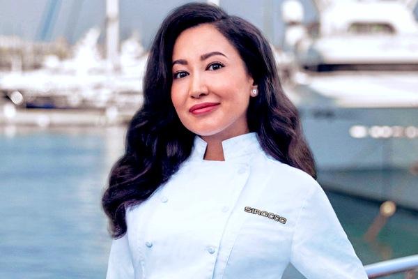 Below Deck Mediterranean chef Mila Kolomeitseva.