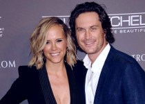 Actress Erinn Bartlett with her husband Oliver Hudson.