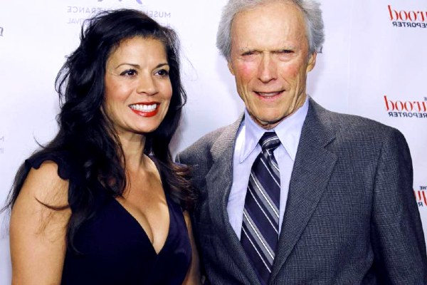 Dina Eastwood and his ex-husband Clint Eastwood.