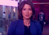 American news anchor Deirdre Bolton
