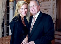 Kathryn Adams Limbaugh with her husband Rush Limbaugh.