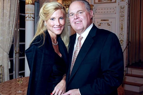 Kathryn Adams Limbaugh with her husband Rush Limbaugh.