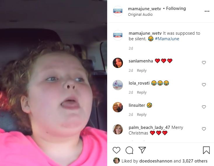Honey Boo Boo Silent Fart Fail