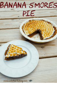 Banana S'mores Pie