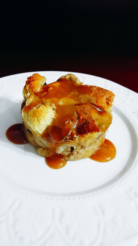 Pain Patate Bread Pudding