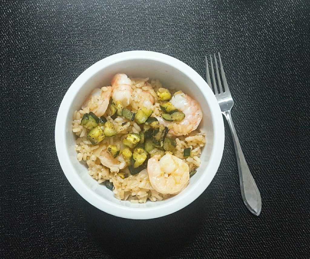HelloFresh Lemony Shrimp Risotto