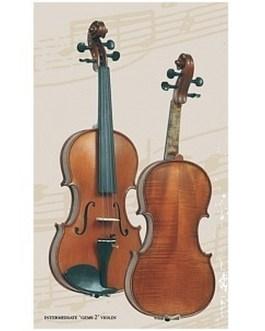 Скрипка 4/4 с чехлом Gliga Intermediate Gems 2 I-V044-Set описание и цены