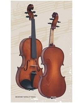 Скрипка 4/4 с чехлом Gliga Beginer Genial 2 Nitro B-V044-Set описание и цены
