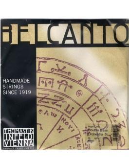Струны для контрабаса 3/4 THOMASTIK INFELD Belcanto Rope Core BC600S описание и цены