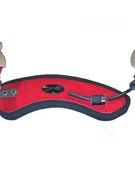 Forte Secondo Мостик для скрипки размером 1/2-1/4, красный, Wolf SR24-RS