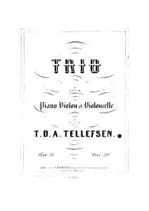 Tellefsen T. - Piano trio, op.31
