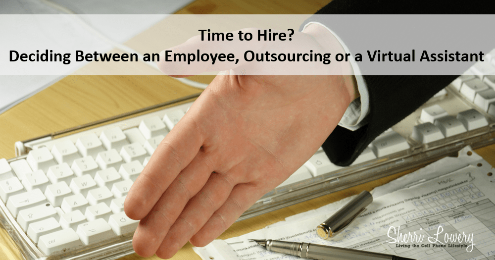 Deciding between an Employee, Outsource or a Virtual Assistant