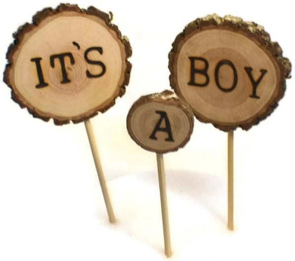 Rustic Woodland Baby Shower Decorations  from i2.wp.com