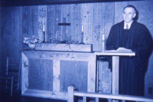 Sandy preaching