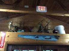 Photo by Jeffrey Hsu. Forrest Hills Resort dining lodge decor is always on point.