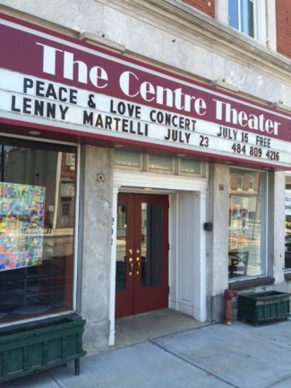 Peace and Love - Lenny Martelli marquee
