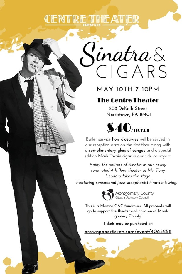 Sinatra and Cigars Poster small version