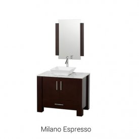 "Milano Espresso | Available Sizes: 36"" (by Special Order Only)."