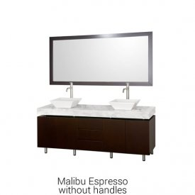 Malibu Espresso Without Handles | Available Sizes: 72""
