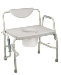 Drive Medical commode potable commode_best bariatric commodes