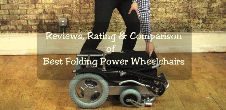 best folding power wheelchairs