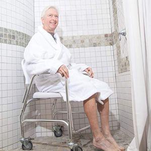 DMI Shower Transport Chair 2019