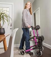 Best 4 wheel rollator with seat