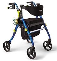 Medline Premium Empower Rollator Walker with Seat