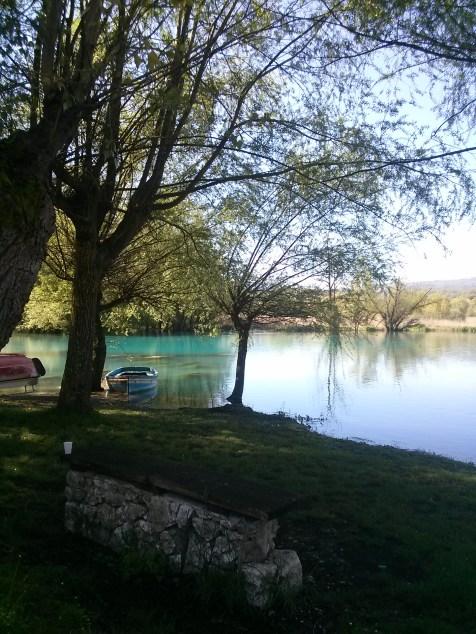 Italy, small lake near the farm