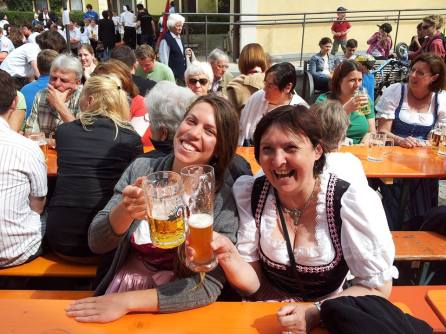 German friends from farms